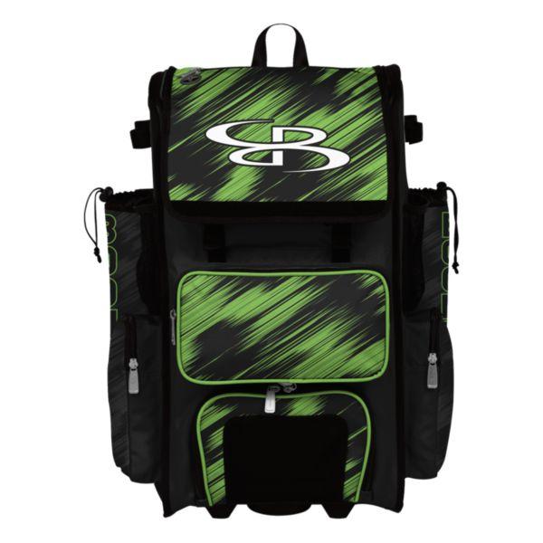 Superpack Hybrid Scratch Rolling Bat Bag