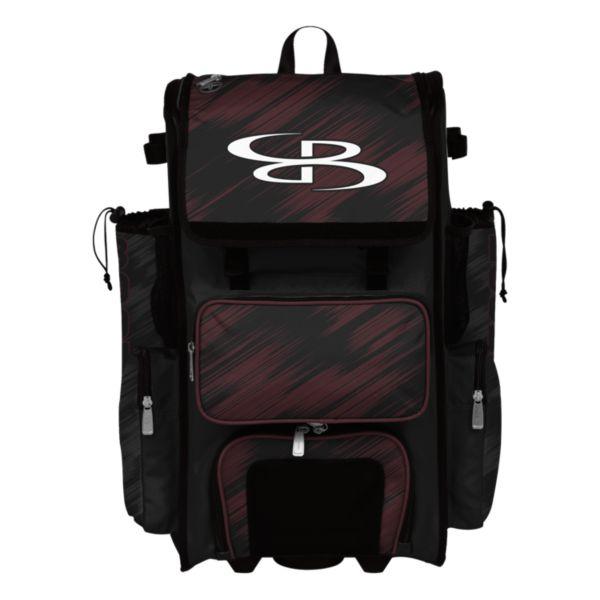 Rolling Superpack Hybrid Scratch Bat Pack Black/Maroon