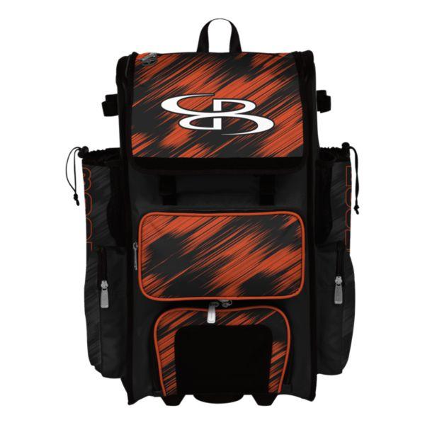 Rolling Superpack Hybrid Scratch Bat Pack Black/Orange