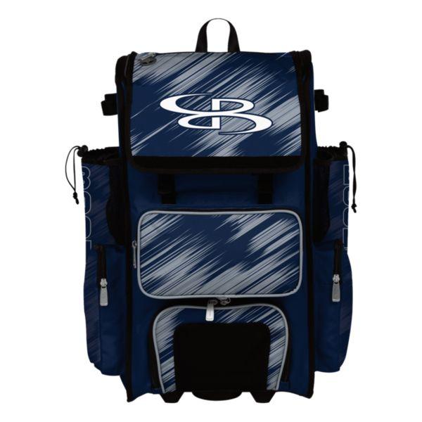 Rolling Superpack Hybrid Scratch Bat Pack Navy/Gray