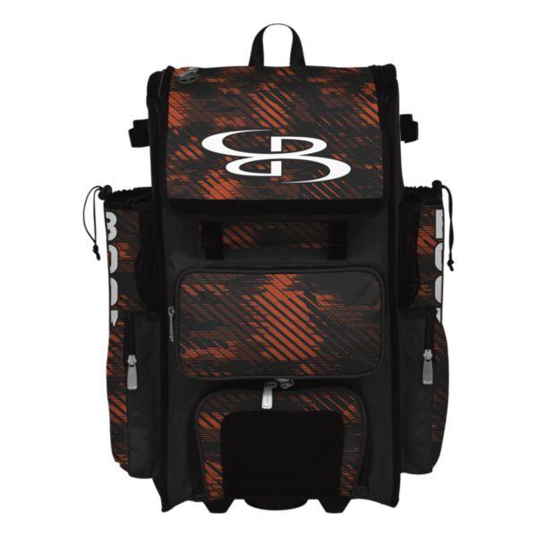 Rolling Superpack Hybrid Force Bat Pack Black/Orange