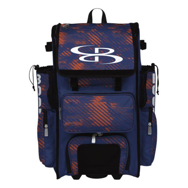 Rolling Superpack Hybrid Force Bat Pack Royal/Orange