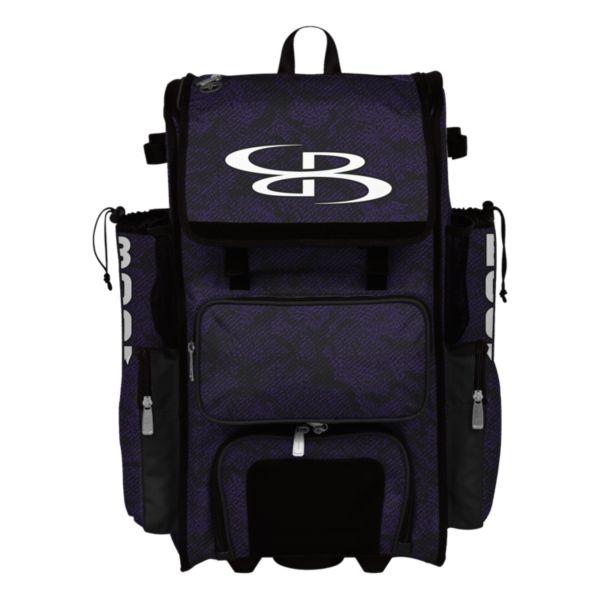 Rolling Superpack Hybrid Shadow Bat Pack Black/Purple
