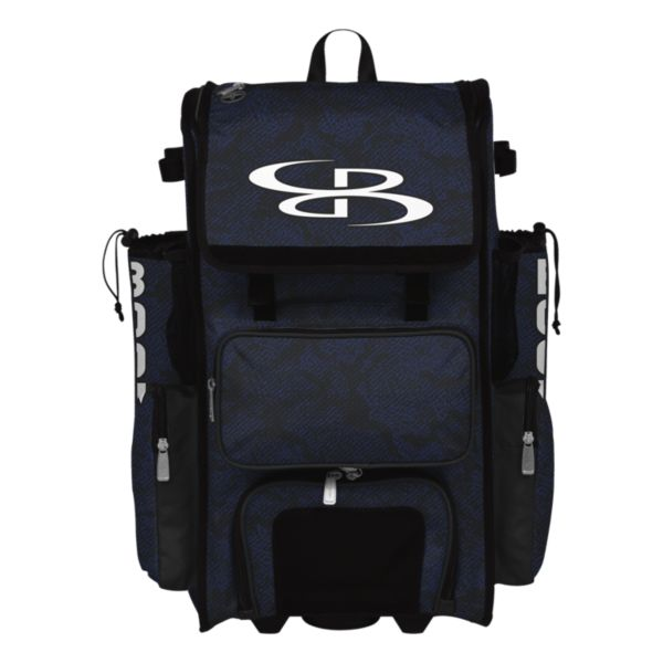 Superpack Hybrid Shadow Rolling Bat Bag