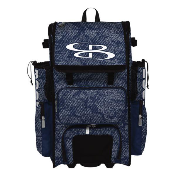 Rolling Superpack Hybrid Shadow Bat Pack Navy/Gray