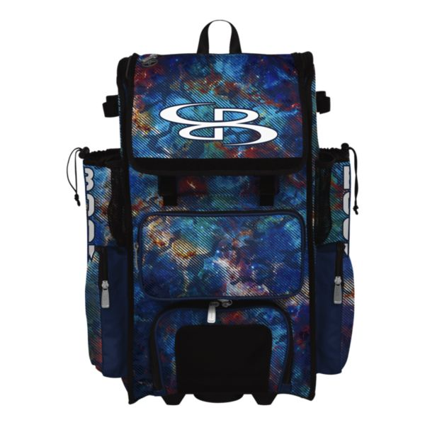 Superpack Hybrid Nebula Rolling Bat Bag
