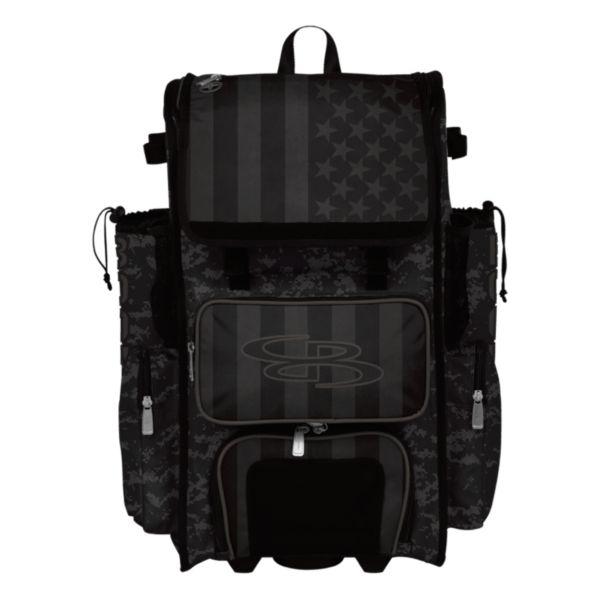 Superpack Hybrid USA Clandestine Bat Pack Black/Dark Charcoal