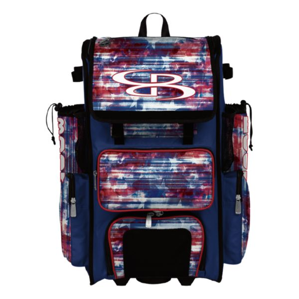 Superpack Hybrid USA Galactic Bat Pack Royal Blue/Red/White