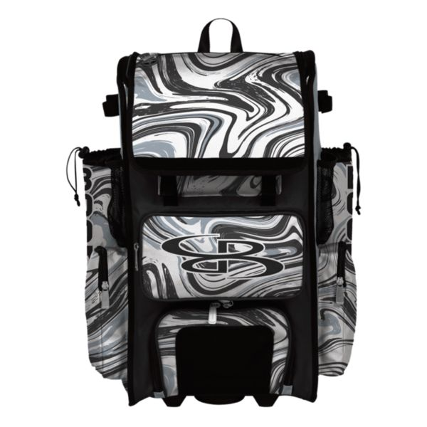 Superpack Hybrid Marbleized Bat Pack Gray/Black/White
