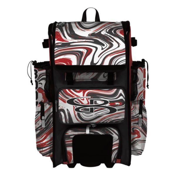 Superpack Hybrid Marbleized Bat Pack Red/Black/White