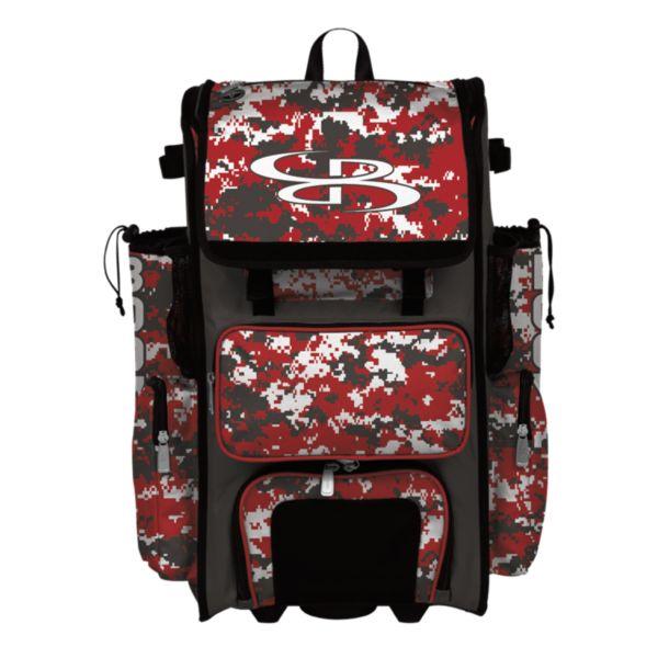 Superpack Hybrid Camo Rolling Bat Bag