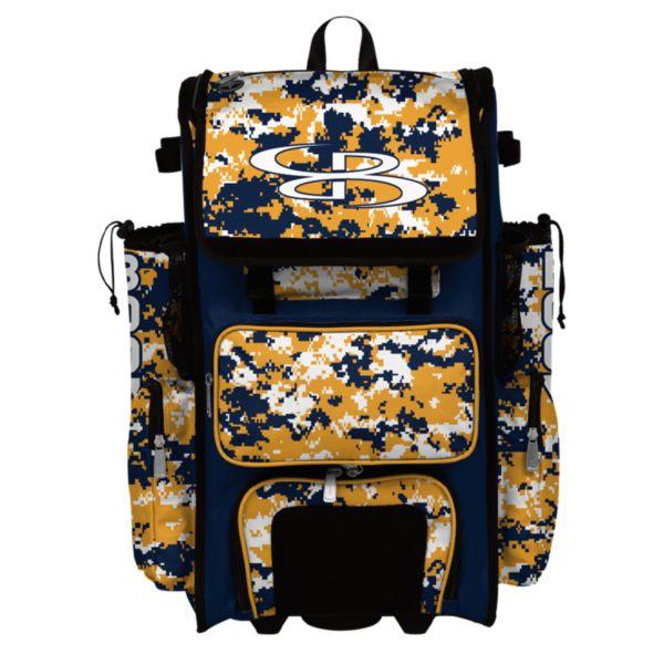 Rolling Superpack Hybrid Camo Bat Pack Navy/Gold