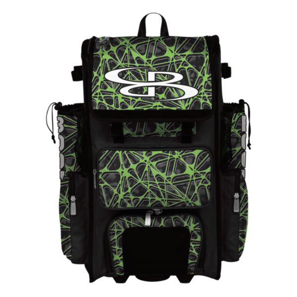 Superpack Hybrid Venom Rolling Bat Bag