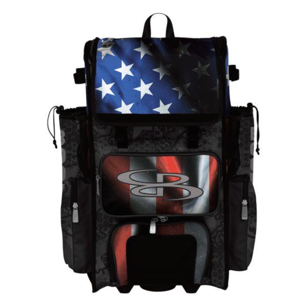Superpack Hybrid USA Black Ops Rolling Bat Bag