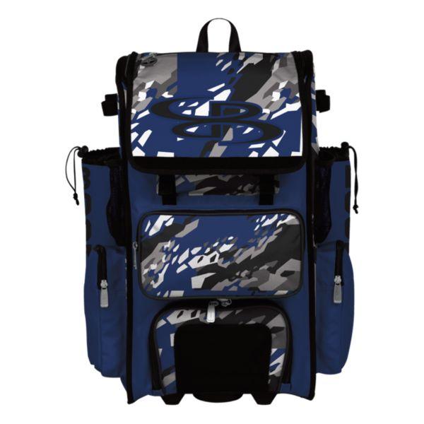 Superpack Hybrid Hexfire Bat Pack Black/Royal/White