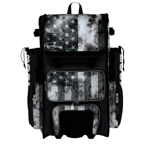 Superpack Hybrid USA Old Glory Black Ops Bat Pack Black/Charcoal/White