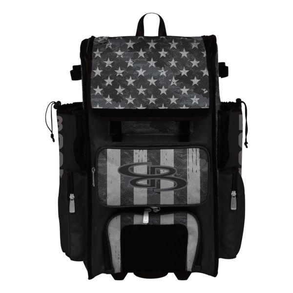 Superpack Hybrid USA Pledge Black Ops Bat Pack Black/Charcoal/Steel