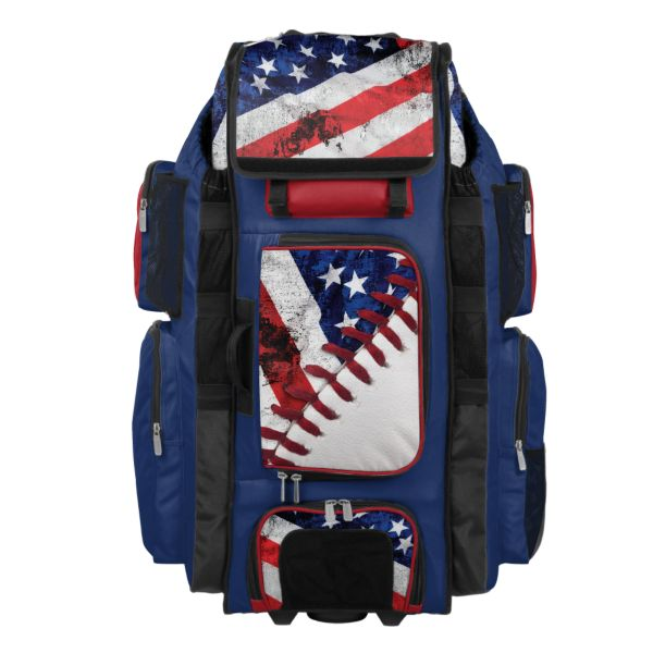 Rolling Superpack XL USA Baseball Royal Blue/Red/White