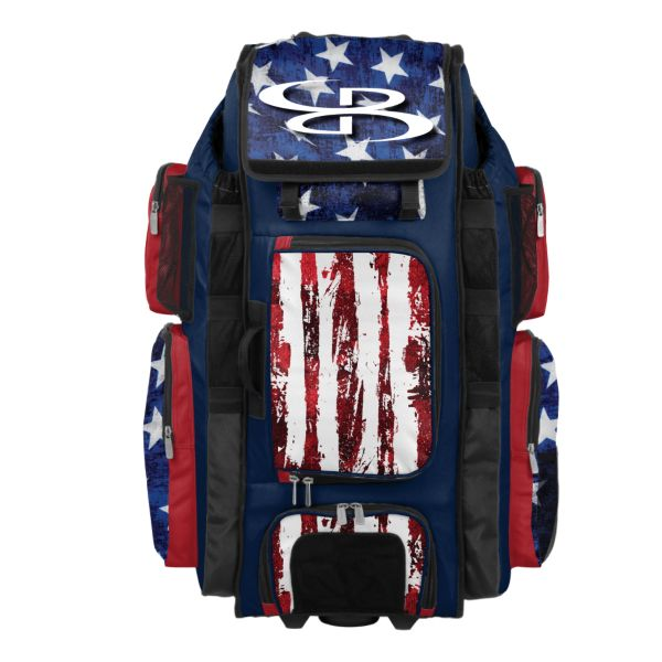 Rolling Superpack XL USA Stars & Stripes Navy/Red/White