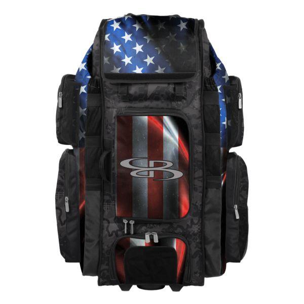 Rolling Superpack XL USA Black Ops Black/Royal Blue/Red