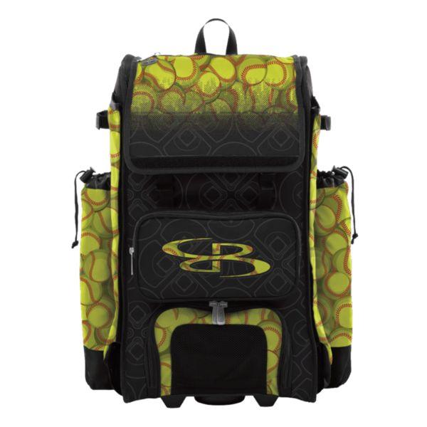 Catcher's Superpack Hybrid Softball Black/Optic Yellow/Red