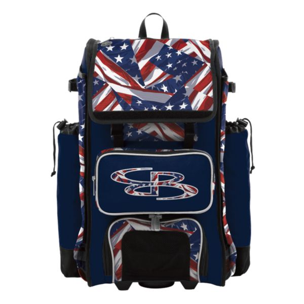 Catcher's Superpack Hybrid USA Independence Navy/Red/White