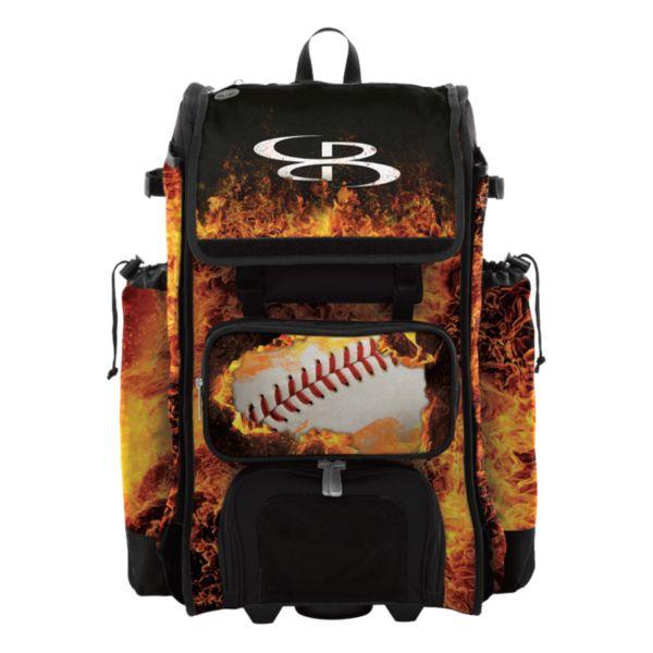 Catcher's Superpack Hybrid Fireball Black/Orange/White