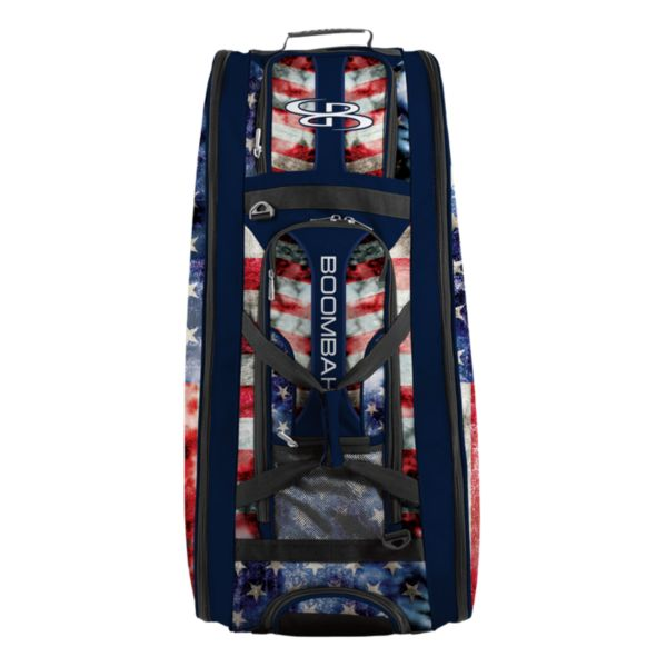 Rolling Beast Bat Bag 2.0 Old Glory Navy/Red/White