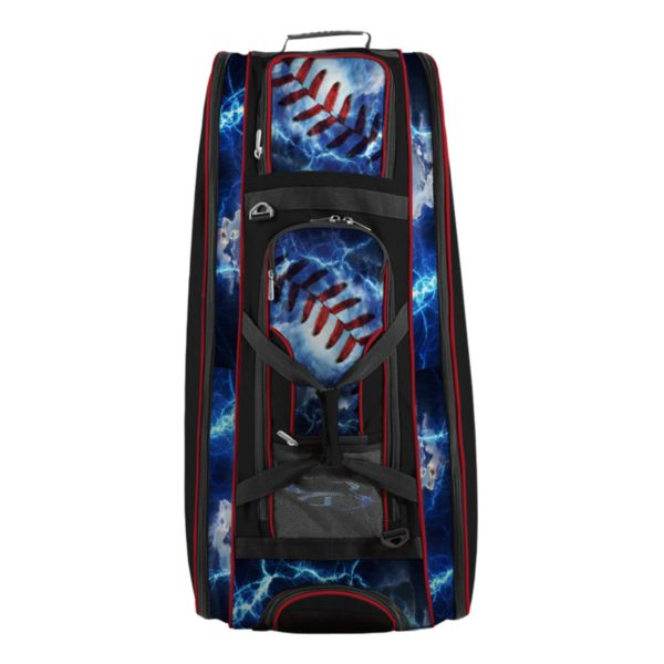 Rolling Beast Bat Bag 2.0 The Natural Black/Red/White