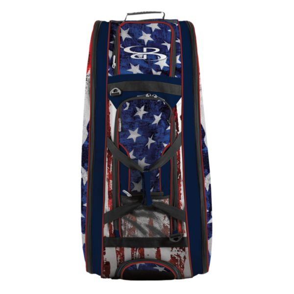 Rolling Beast Bat Bag 2.0 USA Stars & Stripes Navy/Red/White