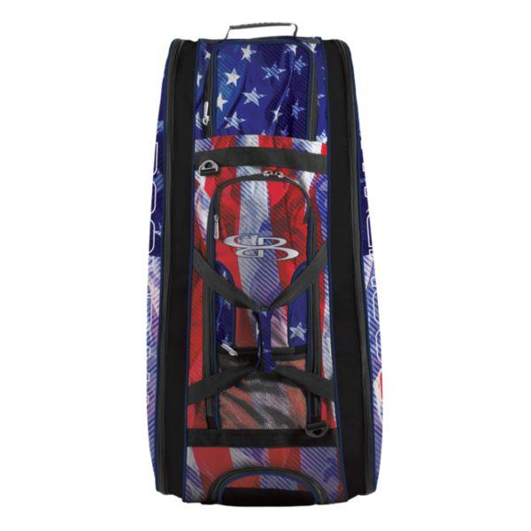 Rolling Beast Bat Bag 2.0 USA Pledge Royal/Red/White