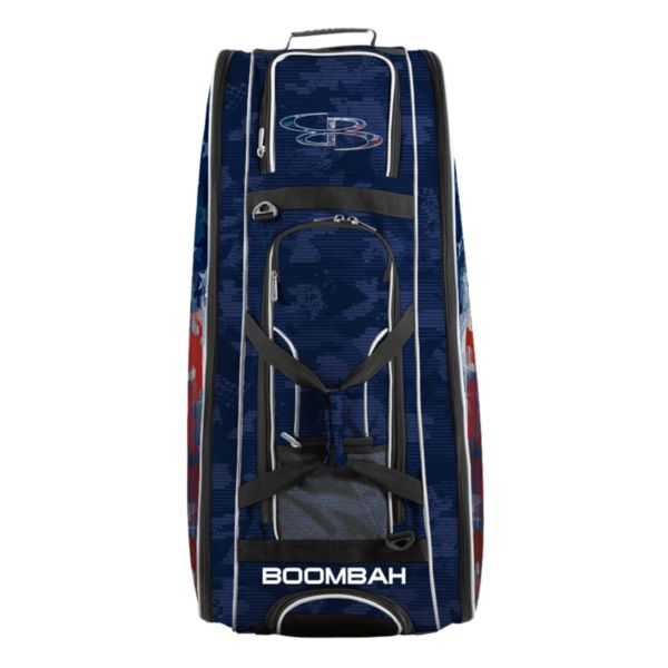 Rolling Beast Bat Bag 2.0 USA Patriotech Navy/Red/White