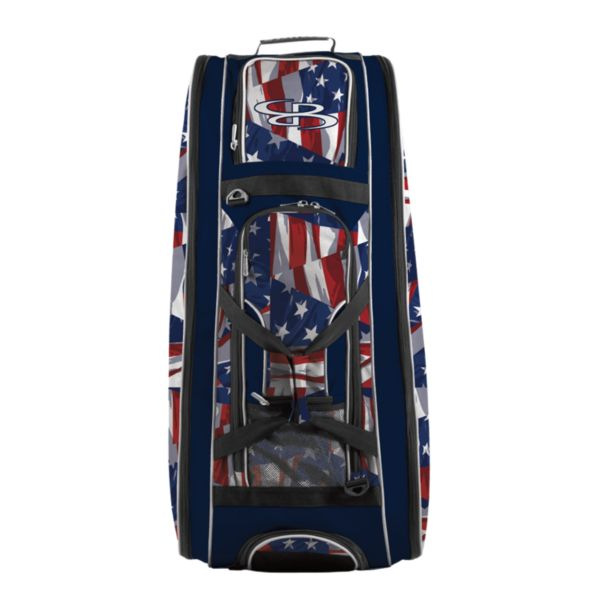 Rolling Beast Bat Bag 2.0 USA Independence Navy/Red/White