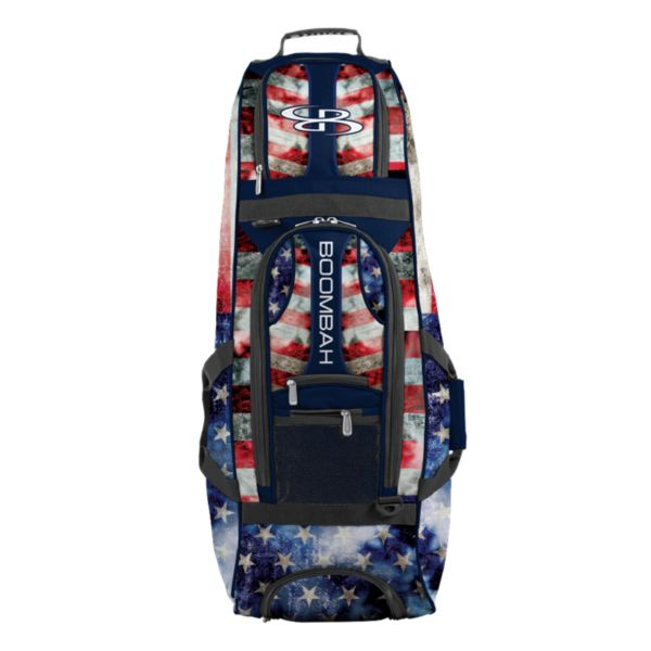 Spartan Rolling Bat Bag 2.0 Old Glory Navy/Red/White