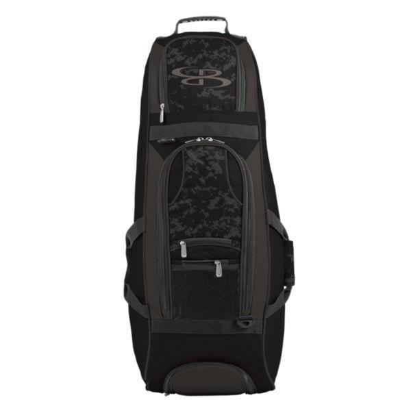 Spartan Rolling Bat Bag 2.0 USA Clandestine Black/Dark Charcoal