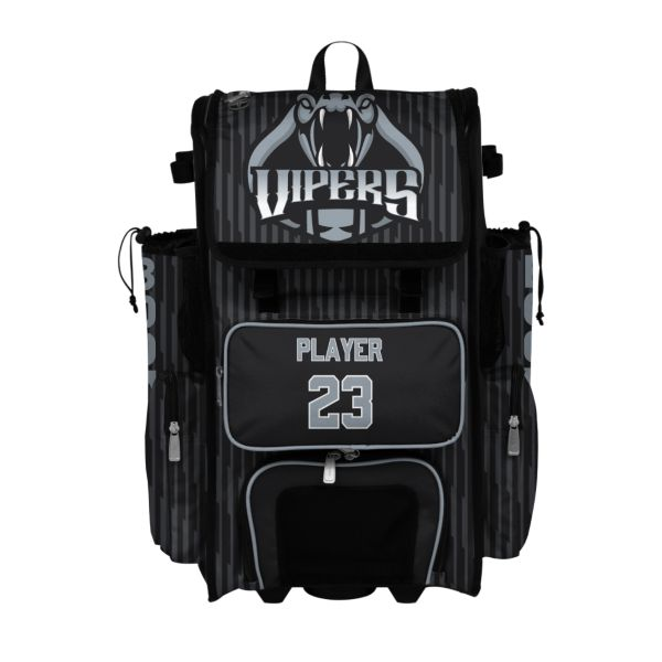 Custom Superpack Hybrid Rolling Bat Bag