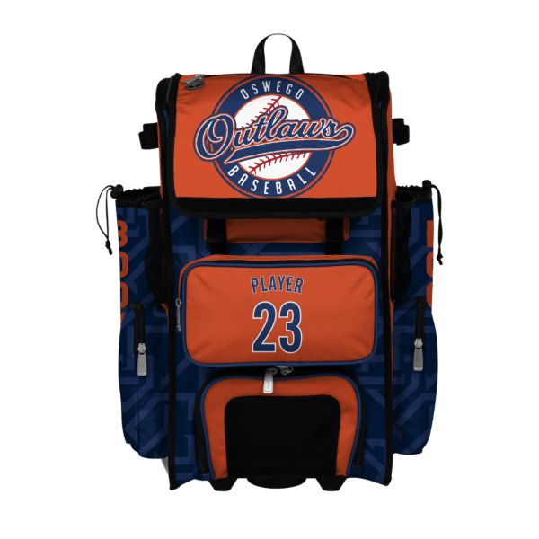 Custom Superpack Rolling Bat Bag 2.0