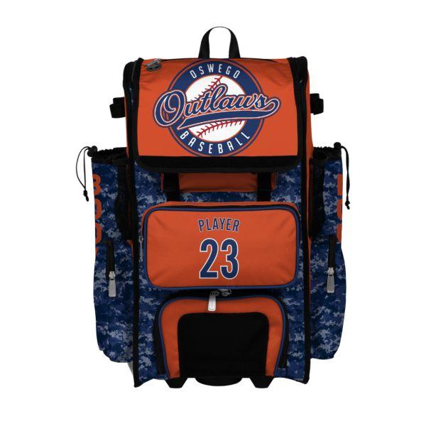 Custom Superpack Rolling Bat Bag 2.0