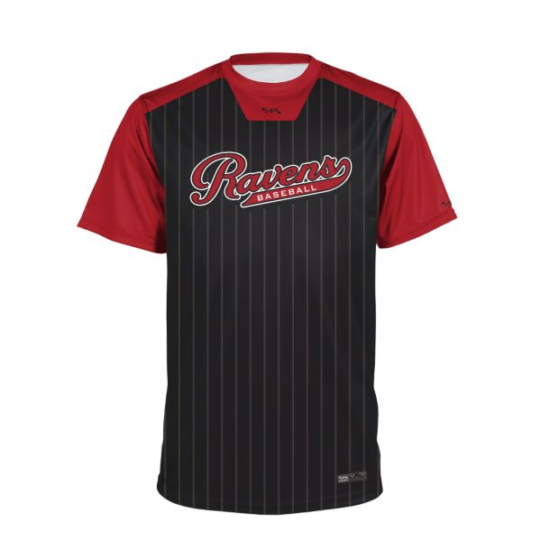 Youth Custom Crew Neck Short Sleeve Baseball Jerseys