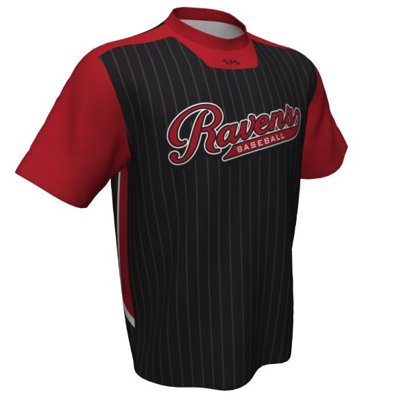 Custom Men's Short Sleeve Baseball Jersey