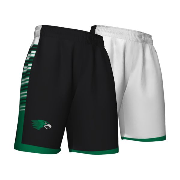 Custom Youth Fadeaway Series Reversible Basketball Shorts
