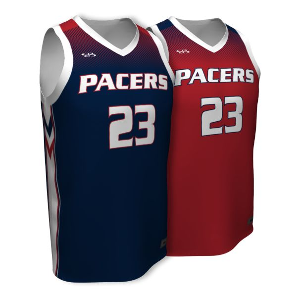 Custom Men's Fadeaway Series Reversible Basketball Jersey