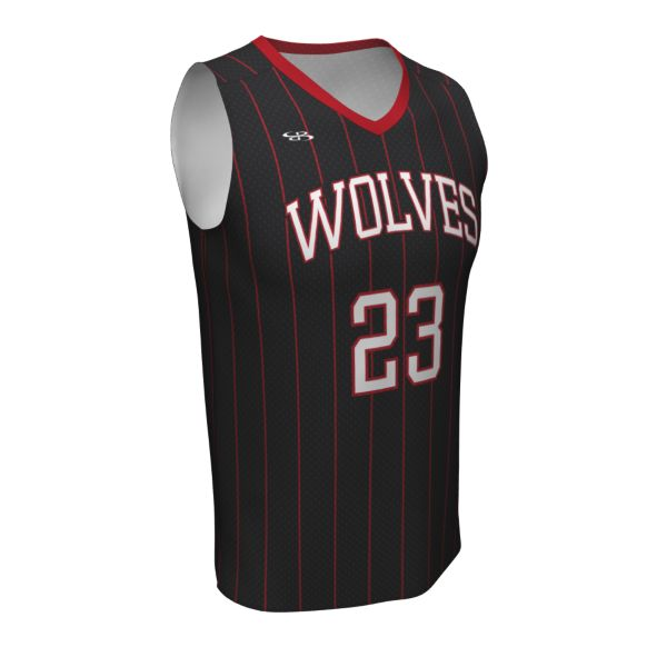 Custom Youth Fadeaway Series V-Neck Basketball Jersey