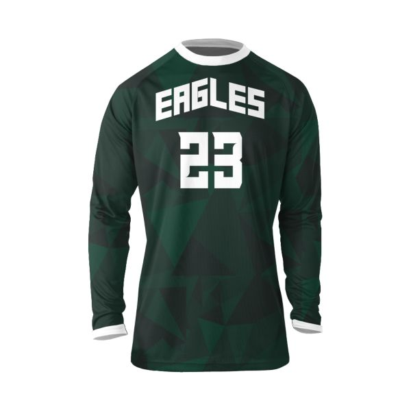 Custom Men's Basketball Long Sleeve Shooting Shirt
