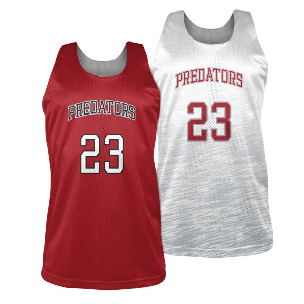 Custom Men's Basketball Reversible Practice Jersey
