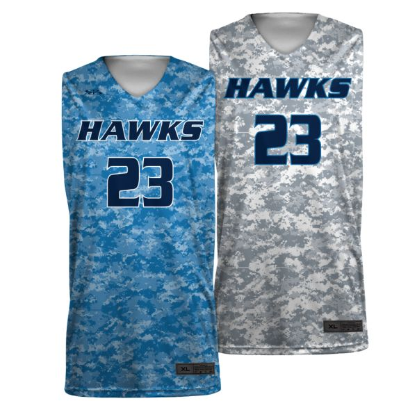 Custom Men's Basketball Reversible Jersey