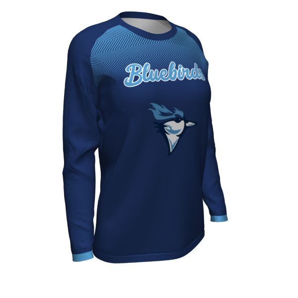 Custom Women's Basketball Long Sleeve Shooting Shirt