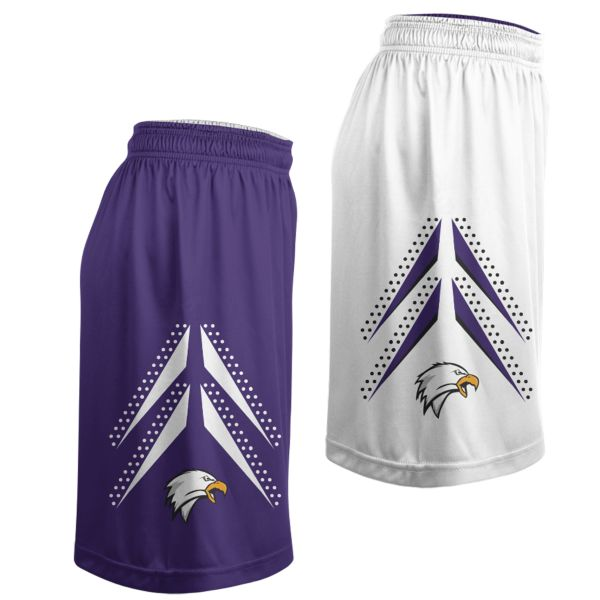 Women's Custom Basketball Reversible Shorts