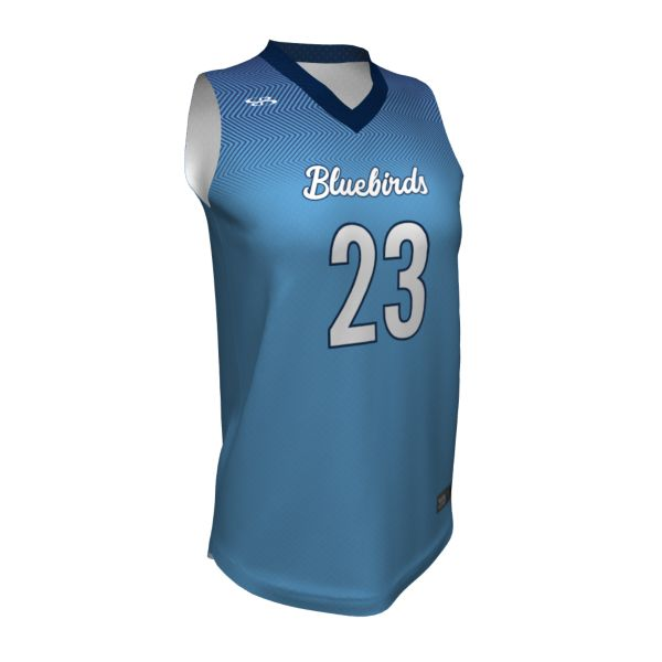 Custom Women's Basketball V-Neck Jersey