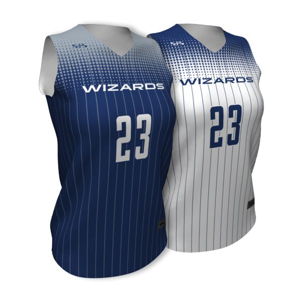 Custom Women's Basketball Reversible Jersey